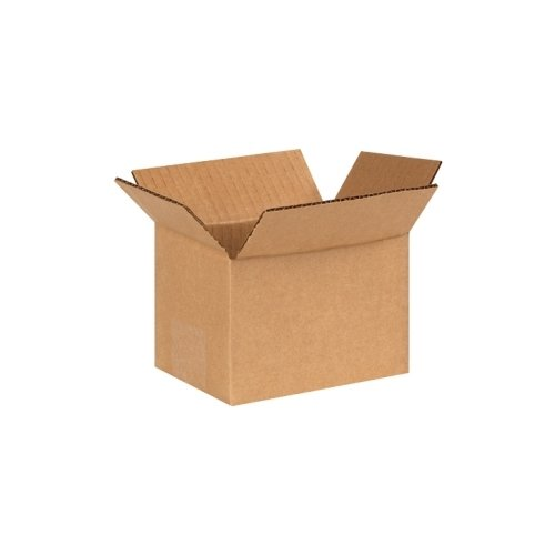 "Box Partners Corrugated Boxes, 6"" x 4"" x 4"" - 25 each per Bundle"