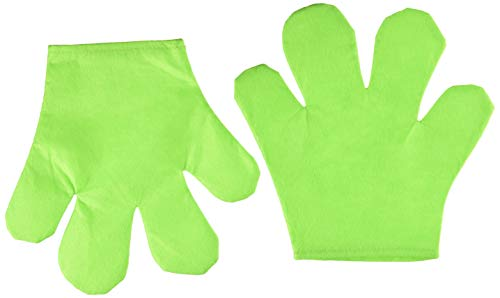 (Forum Novelties Party Supplies Unisex-Adults Cartoon Gloves, Green, Standard, Multi)