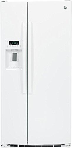 GE 23.2 Cu. Ft. Side-by-Side Refrigerator White GSE23GGKWW