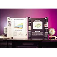 White Tri fold Spotlight Foam Presentation Board 1188 x 840mm x 1 white for displaying artwork and projects. Rigid and lightweight that is smooth and flat