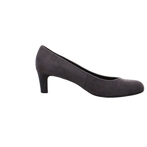 Gabor Shoes Gabor Basic, Zapatos de Tacón para Mujer Gris (39 Anthrazit)