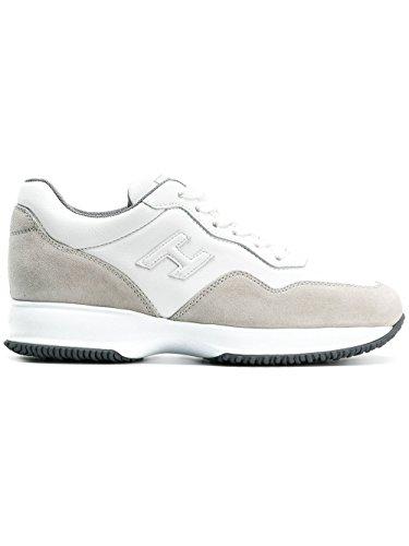 Hogan Sneakers Uomo HXM00N0U040H1R137E Pelle Bianco