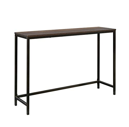 Sauder North Avenue Sofa Table, Smoked Oak finish