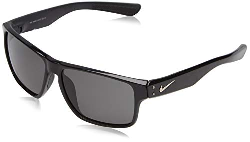 (Nike Mavrk Square Sunglasses, Matte Black, One Size)