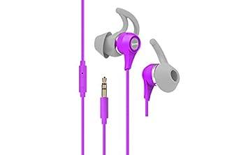 Vieta Audio VHP-SP300PL Binaurale Dentro de oído Púrpura: Amazon.es: Electrónica