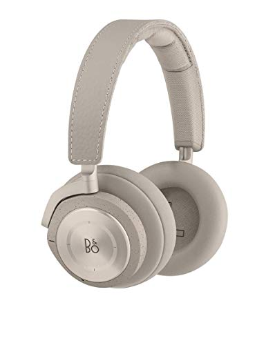 Bang & Olufsen Beoplay H9i 1645056 Wireless Bluetooth Over-Ear Headphones with Active Noise Cancellation, Transparency Mode and Microphone, Clay