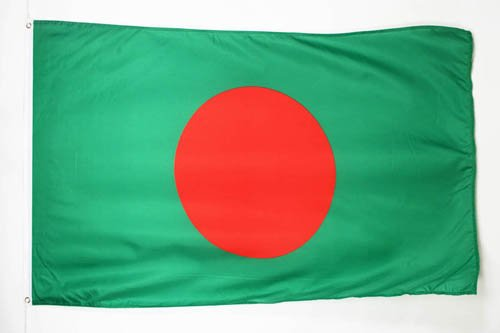BANGLADESH FLAG 3' x 5' - BANGLADESHI FLAGS 90 x 150 cm - BANNER 3x5 ft - AZ FLAG