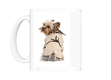 Taza de perro de raza Yorkshire Terrier - Perchero de pared ...