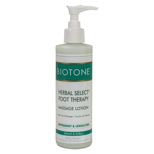 Biotone Herbal Select Foot Therapy Lotion de massage 8 oz