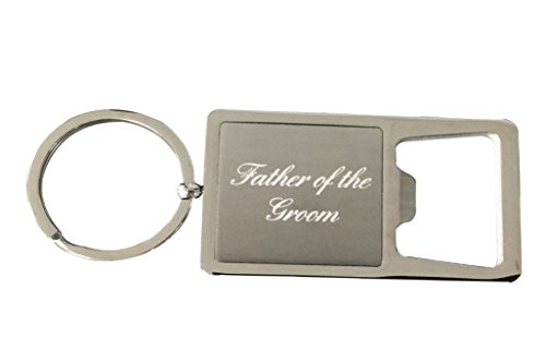 Infinity Collection Father of The Groom Gift, Grooms Father Keychain, Grooms Father Gift, Bottle Opener Keychain, for Father of The Groom