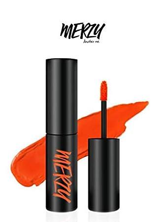 Amazon Com Merzy The First Velvet Tint V3 Cassis Orange Power