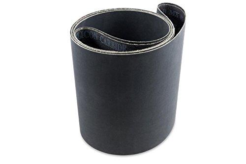 6 X 48 Inch 400 Grit Silicon Carbide Sanding Belts, 2 - Belts 6 X 48 Sanding