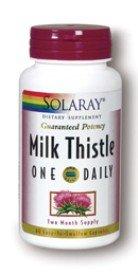 Solaray - Milk Thistle un quotidien, 60 capsules