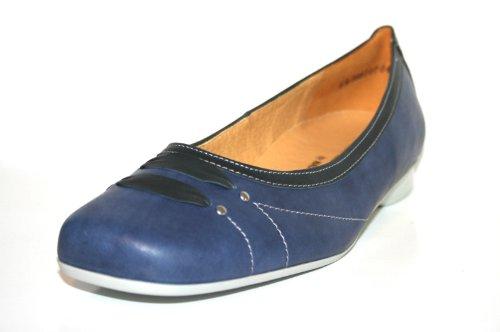 Theresia ozean Femme Ballerines 868 Pour asphalt Muck Blau vrF7vw