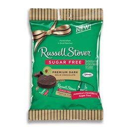 Sugar Free Dark Chocolate Medallions, 3 oz. Bag