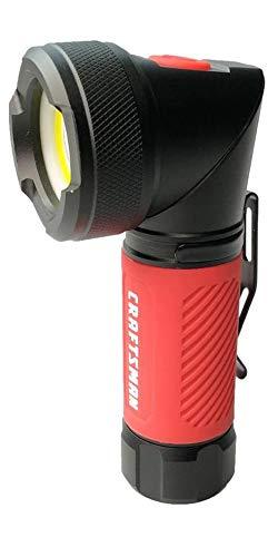 (Craftsman 250 lumen LED flashlight with pivoting head and magnetic base)