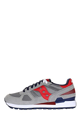 Blu homme Men Saucony Red Grey Shadow mode Original Baskets wq1x86UT1