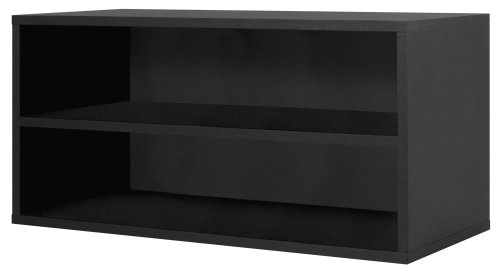 Foremost 329206 Modular Large Shelf Cube Storage System, Black