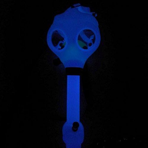 Tutun Glow in the Dark mask+Acrylic tube (Blue)
