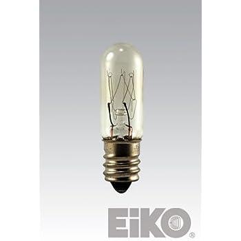 Eiko 15t4c 130v 10 Pack 15 Watt T4 Clear