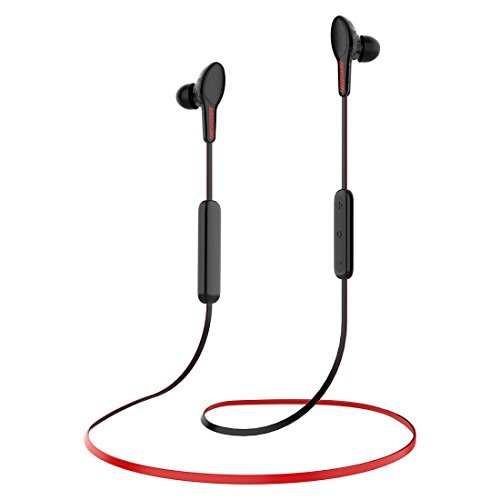 VISSON Wireless Headphones Bluetooth Earbuds,Sports Bass HiFi Stereo in-Ear Earphones w/Mic,8-9 Hours Play Time,Bluetooth 4.2,CVC 6.0 Noise Cancelling(Comfy & Fast Pairing)