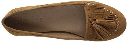Ikeki 114 cammello Closed Kickers Ballerine Brown Toe Donna zWTZTqwS