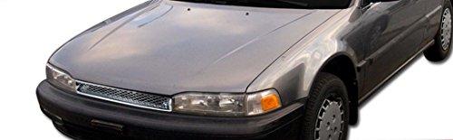 Honda Accord 2/4 Door Jdm-R Chrome Badgeless Mesh Front Hood Grill Grille