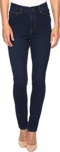 FDJ French Dressing Jeans Women's Comfy Denim Wonderwaist Suzanne Slim Leg in Indigo Indigo Jeans