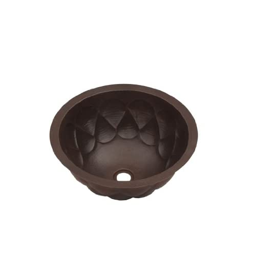 Hand Hammered Copper Round Sink Drops Design 60%OFF