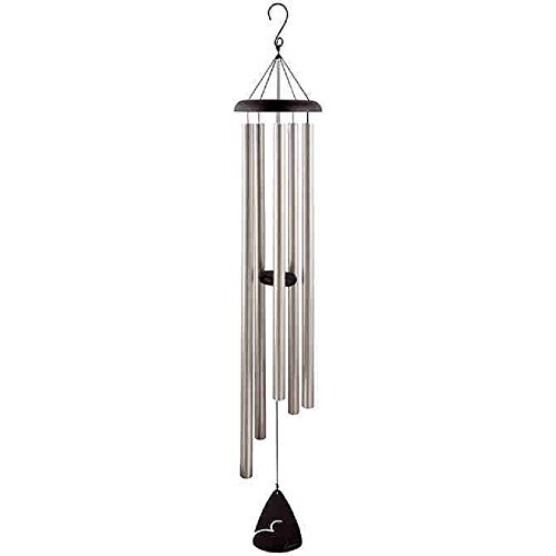 Carson Home Accents Signature Series Chimes 60-Inch Pewter Fleck Chime