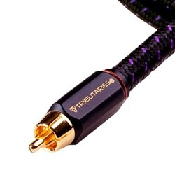 Series Rca Mono Subwoofer Cable (Tributaries Series 6 Sub Woofer Cable - Mono - 4M (13Ft))