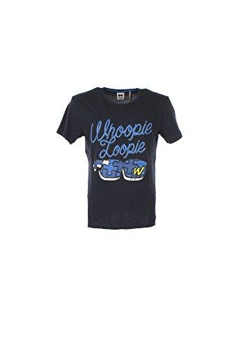 T-shirt Uomo Whoopie Loopie XL Blu Wm17s10tg Primavera Estate 2017