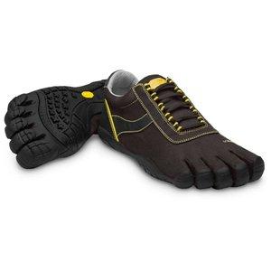 Vibram FiveFingers Speed XC Trekking Shoe - Men's-Black/Yellow-46