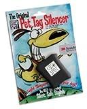 Quiet Spot Pet Tag Silencer, Black, My Pet Supplies