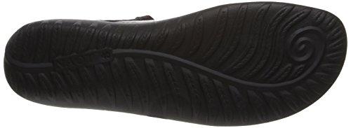 Flat Women's Leather Kukamo Black Jane Mary Leather Madras Naot Onyx wZInqRR