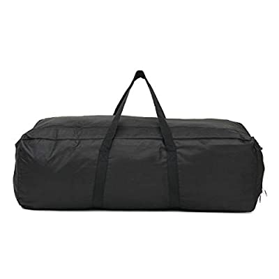 K&A Company Outdoor Camping Travel Duffle Bag Water of Oxford Foldable Luggage Handbag Storage Pouch, L