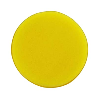 Polyte Foam Detailing Applicator Pad (Yellow, 8 Pack, 4.3 in): Automotive