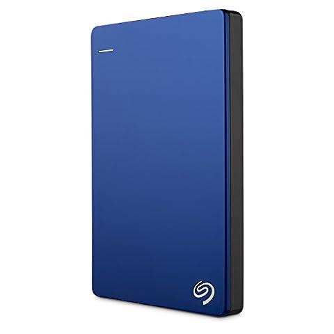 Seagate Backup Plus Slim 1TB Portable External Hard Drive USB 3.0, Blue (STDR1000102) (Ps4 Disk Drive)