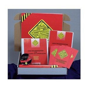 Marcom Group K0000159SO OSHA Recordkeeping for Managers, DVD Training Kit, Spanish