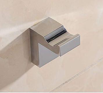 Wellsum Distributeur de Papier Toilette Distributeur de Papier hygi/énique Porte-Serviette en Laiton Fini Chrome chrom/é Salle de Bains en Argent