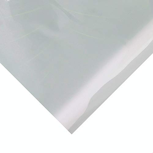 Translucent High Temp Thin Silicone Rubber Sheet 1/25 by 12 by 19.7 inch ()