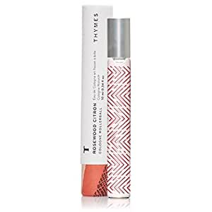 Amazon.com: Thymes Rosewood Citron Cologne Rollerball - .34oz: Health