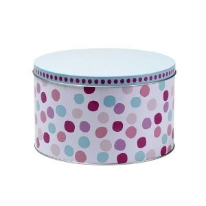 miniamo cupcakes set of two cake storage tins. Black Bedroom Furniture Sets. Home Design Ideas