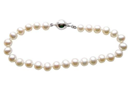 7mm Cultured Pearl Bracelet - 9