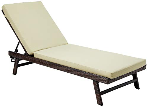 Best Selling Waveland Adjustable Chaise Lounge with Cushion (Chaise Adjustable Lounge)