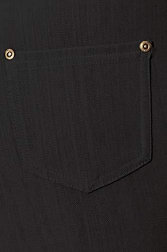 J04-1004OS-BLACK Premium Quality Jeggings
