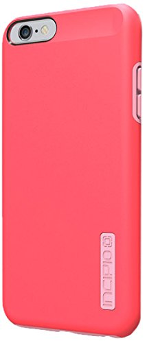iPhone 6S Plus Case, Incipio DualPro Case [Shock Absorbing] Cover fits Both Apple iPhone 6 Plus, iPhone 6S Plus - Coral/Light Pink (Coral Blue Iphone 5 Case)