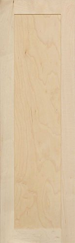 Unfinished Maple Shaker Cabinet Door by Kendor, 39H x 12W