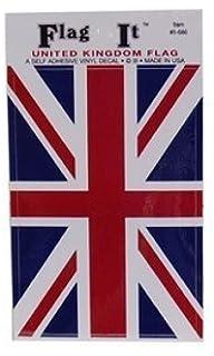 Union Jack British Flag Self Adhesive Sticker 3