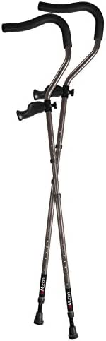 in-Motion Pro Ergonomic Foldable Crutches | Size Short (4'6